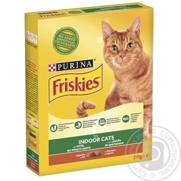 Friskies Vegetables And Chicken With Dry For Indoor Cats Food - buy, prices for Tavria V - image 5