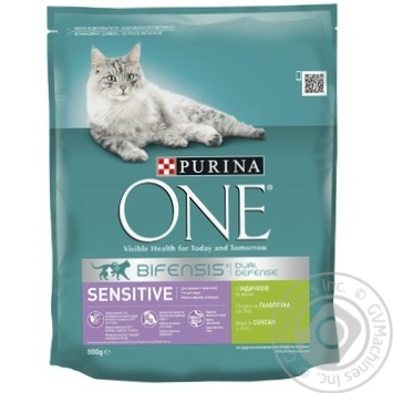 Purina One With Turkey Dry For Cats Food - buy, prices for Novus - image 1