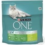 Корм сухий Purina ONE Indoor З індичкою та цільними злаками для дорослих котів 1,5кг
