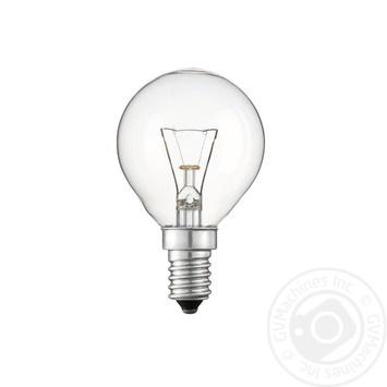 Лампа накаливания Philips Stan 40W E14 230V P45 CL 1CT/10X10F - купить, цены на Novus - фото 2