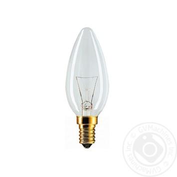 Лампа накаливания Philips Stan 40W E14 230V B35 CL 1CT/10X10F - купить, цены на СитиМаркет - фото 2