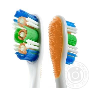 Зубна щітка Colgate 360 Суперчистота всієї порожнини рота середньої жорсткості промоупаковка 1+1 - купити, ціни на Ашан - фото 8