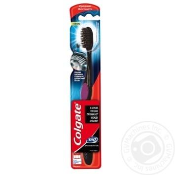 Зубная щетка Colgate 360 Древесный уголь средней жесткости - купить, цены на Фуршет - фото 7