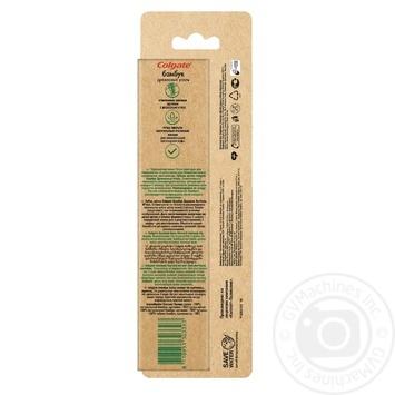 Зубна щітка Colgate Бамбук Деревне Вугілля проти бактерій чорна м'яка 2шт - купити, ціни на Восторг - фото 3