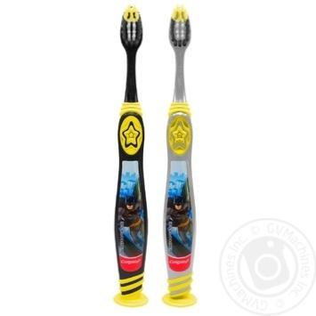 Зубная щетка Colgate Barbie/Batman детская супермягкая 5+ - купить, цены на Фуршет - фото 6