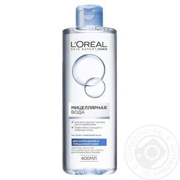Мицеллярная вода L'oreal для нормальной и смешанной кожи 400мл
