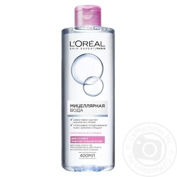 Міцелярна вода L'oreal для нормальної та змішаної кожи 400мл