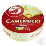Auchan Camembert Cheese 48% 250g