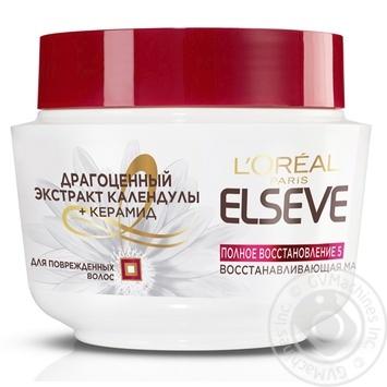 Маска для волос Loreal Elseve Полное восстановление 300мл - купить, цены на Novus - фото 1