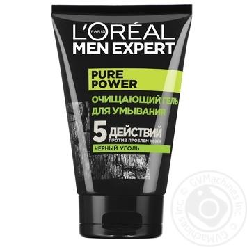 Гель очищающий L'Oréal Paris Men Expert для всех типов кожи 100мл