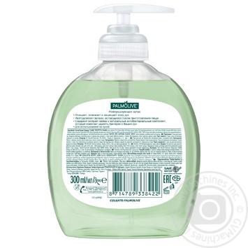 Жидкое мыло Palmolive Нейтрализующее запах для мытья рук на кухне антибактериальный компонент 300мл - купить, цены на ЕКО Маркет - фото 2