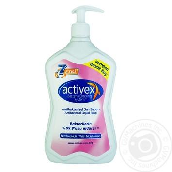 Activex Moisturizing Antibacterial Liquid Soap 700ml - buy, prices for CityMarket - photo 1
