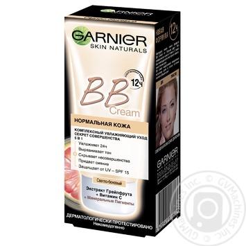 Крем для лица Garnier Секрет совершенства светло-бежевый 50мл - купить, цены на Novus - фото 1