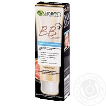 Крем Garnier ВВ для смешанной и жирной кожи светло-бежевый 40мл - купить, цены на Novus - фото 1