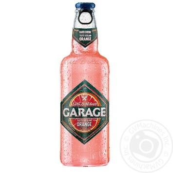 Пиво Seth&Riley's Garage со вкусом сицилийского апельсина 4,6% 0,44л - купить, цены на Фуршет - фото 1