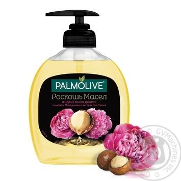 Жидкое мыло Palmolive Роскошь Масел с маслом Макадамии и экстрактом Пиона 300мл - купить, цены на МегаМаркет - фото 4