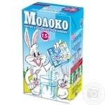 Молоко Заречье ультрапастеризоване 1.5% 1кг
