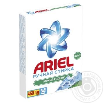 Стиральный порошок Ariel Горный родник для ручной стирки 450г - купить, цены на Фуршет - фото 2