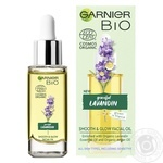 Масло Garnier Bio Graceful Lavandin для лица 30мл - купить, цены на Ашан - фото 1
