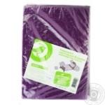 Комплект постельного белья Ашан из микрофибры светло-бежевый 150х210см