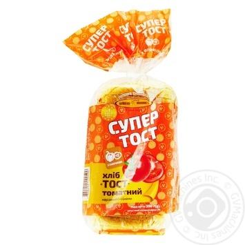 Хліб Київхліб тостовий томатний нарізаний 350г - купити, ціни на CітіМаркет - фото 1