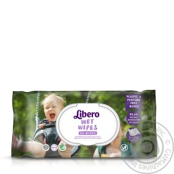Libero Easy Change Aloe Baby Wet Wipes - buy, prices for Auchan - photo 2