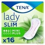 Прокладки урологические женские Tena Lady Slim Mini Plus 16шт