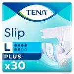 Tena Slip Plus Large Adult Diapers 30pcs