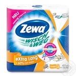 Рушники кухонні Zewa Wisch&Weg Design паперові 72арк 2рул - купити, ціни на МегаМаркет - фото 1