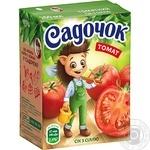 Sadochok tomato juice with salt 0,2l