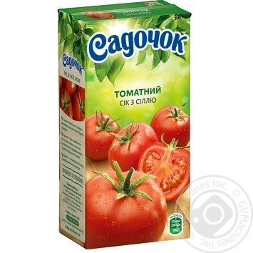 Sadochok Tomato Juice with Salt 0,5l - buy, prices for CityMarket - photo 1