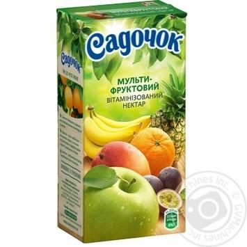 Нектар Садочок мультифруктовый 0,5л - купить, цены на Novus - фото 1
