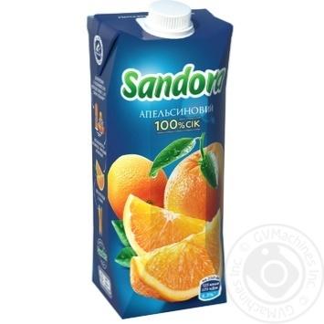 Сок Sandora апельсиновый 500мл - купить, цены на Восторг - фото 1