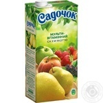 Sadochok multivitamin juice 0,95l