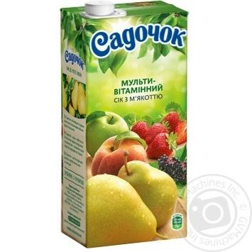Сок Садочок Мультивитамин с мякотью 0.95л - купить, цены на Фуршет - фото 5