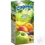 Нектар Садочок Мультифрукт Slim 0.95л - купити, ціни на Ашан - фото 5