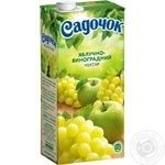 Sadochok Apple-grape Nectar 0.95l