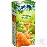 Sadochok Apple-carrot Juice 0.95l - buy, prices for Novus - image 1