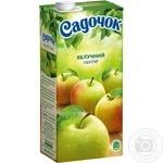 Нектар Садочок Яблочный неосветлённый Slim 0.95л - купить, цены на Фуршет - фото 5