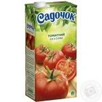 Сік Садочок томатний з сіллю 1,93л - купити, ціни на Фуршет - фото 1