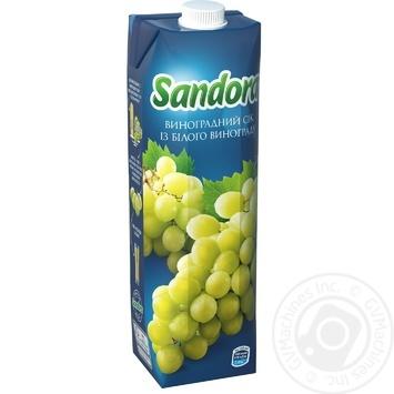 Сік Sandora Виноград 950мл - купити, ціни на Метро - фото 1