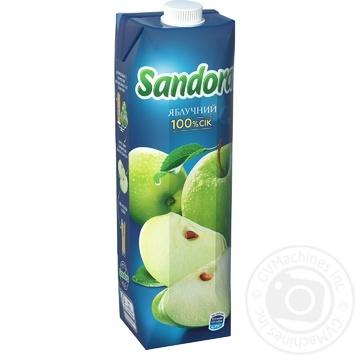 Sandora apple juice 950ml - buy, prices for MegaMarket - image 1