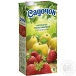 Сік Садочок яблучно-полуничний 1,93л