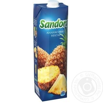 Нектар Sandora Ананас 950мл - купити, ціни на МегаМаркет - фото 1