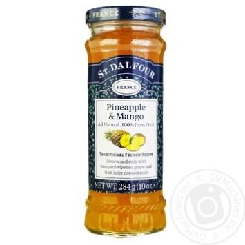 St.Dalfour Pineapple-Mango Jam 284g - buy, prices for MegaMarket - image 1