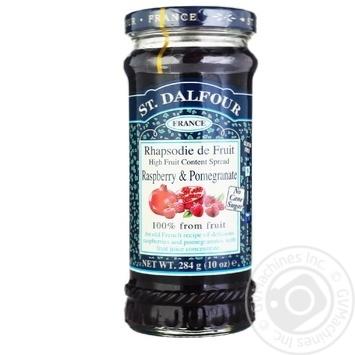 Джем Сент Далфур малина-гранат 284г - купить, цены на МегаМаркет - фото 1
