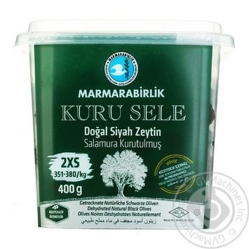 Marmarabirlik Dried Black Olives 400g - buy, prices for Novus - image 1