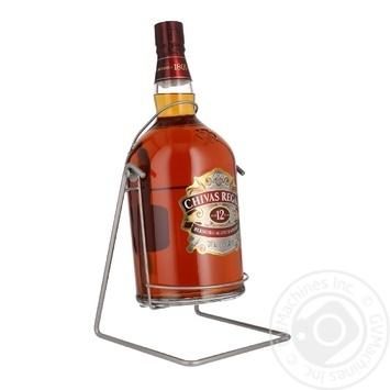 Виски Chivas Regal 12 лет 40% 4,5л в подарочной упаковке - купить, цены на Novus - фото 1