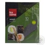 Нори водоросли Katana морские сушеные 10 листов - купить, цены на Novus - фото 1
