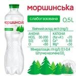 Вода Моршинська слабогазована 0,5л - купити, ціни на Метро - фото 2